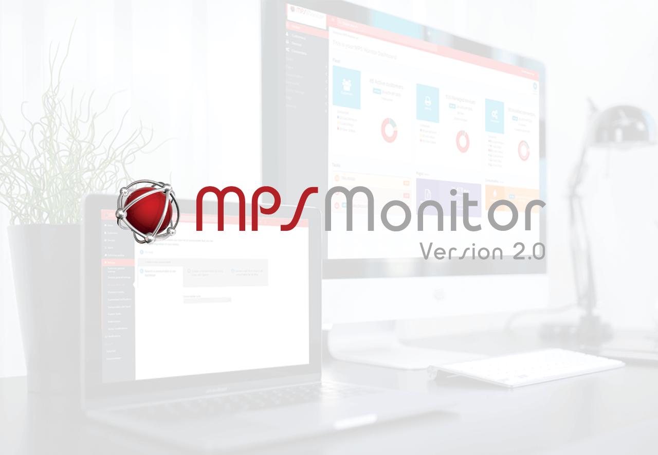 Nuova Piattaforma MPs Monitor 2.0