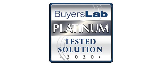 MPS Monitor 2.0 erhält das Platin-Rating  des Buyers Laboratory