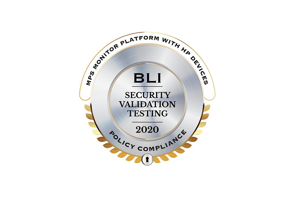 MPS Monitor 2.0 wird vom Keypoint Intelligence-Buyers Lab mit dem BLI-Siegel für Sicherheitsvalidierungstests auf Richtlinienkonformität ausgezeichnet