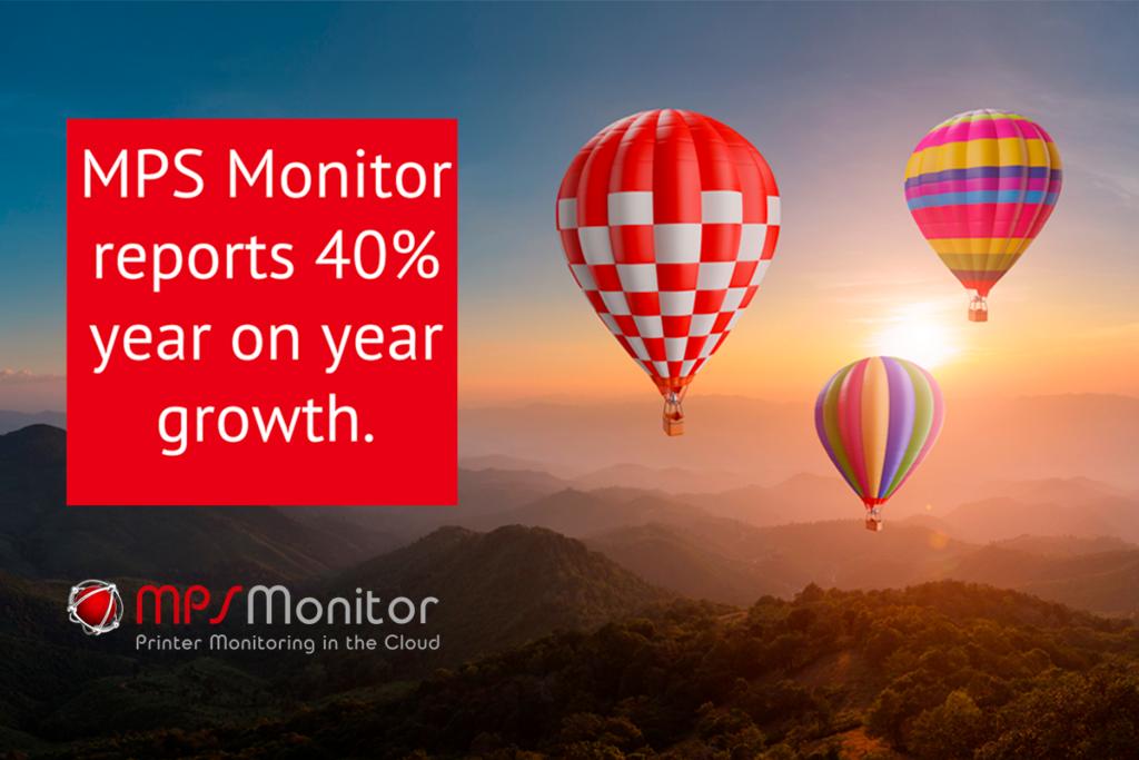 MPS Monitor meldet 40 % Wachstum im Vergleich zum Vorjahr